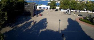 веб-камера на площади Нахимова