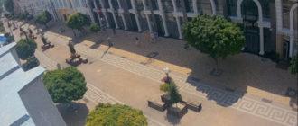 веб-камера на улице Маркса в Симферополе