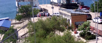 веб-камера около пирса на Северной Стороне