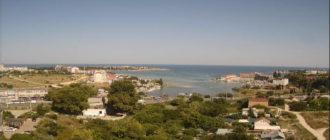 веб-камера у Круглой бухты в Севастополе