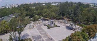 веб-камера в Екатерининском саду