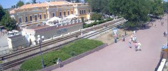 веб-камера на набережной Феодосии