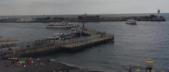 веб-камера на Набережной Ялты