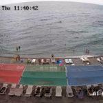 веб-камера на пляже санатория Ай-Петри