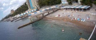 веб-камера на пляже санатория Дюльбер