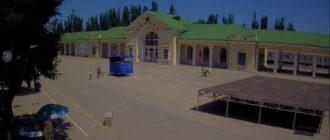 веб-камера на Привокзальной площади в Феодосии