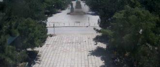 веб-камера на Центральной площади Приморского