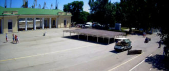 веб-камера на ЖД-вокзале Феодосии