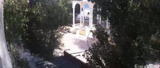 веб-камера у Ротонды на набережной Евпатории